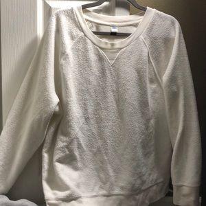 White xl sweatshirt